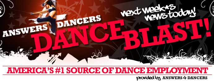 Answers4Dancers-NEXT WEEK's NEWS TODAY!